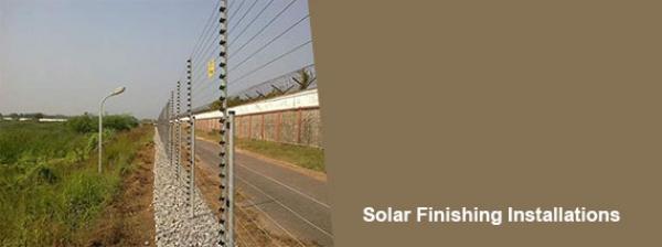 Solar Finishing Installations