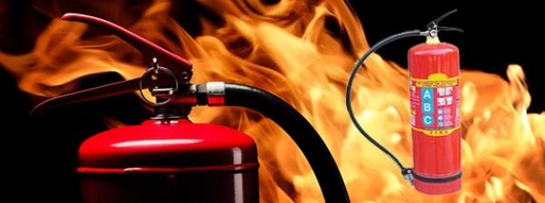 Fire Extinguisher A,B,C